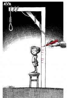 Iran has an exhaustive record of detaining minors and waiting for their 18th birthday in order to carry out the executions, which often takes place in public
