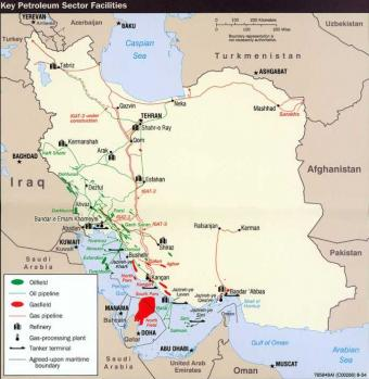 Iranian Oil & Gas facilities